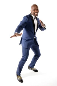 Terry Crews in a suit