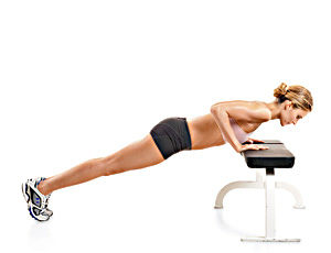 incline Push Up exercise for Women