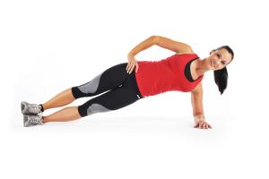 Side Plank Exercise for Women