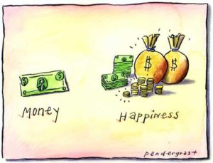 Money is not happiness