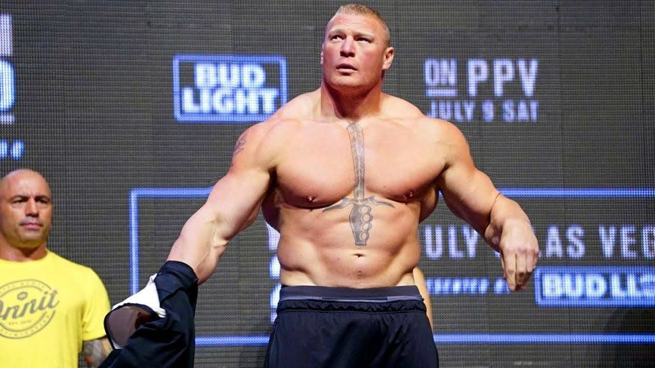 Brock Lesnar Beast in Ring | Workout Trends