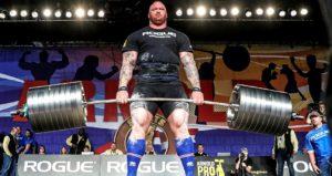 Hafthor Bjornsson weightlifting